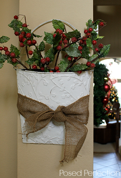 Decking the Halls Holiday Home Tour - Bucket of Berries
