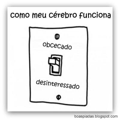 Funcionamento do meu cérbro binário: tico ou teco.