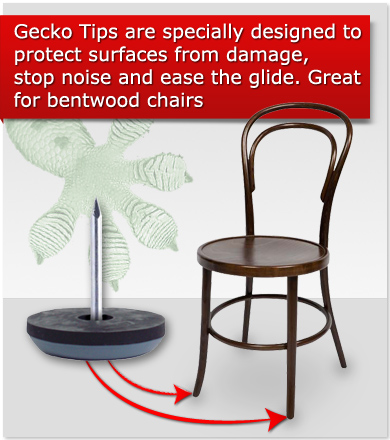 Beau Chair Glides For Wood Floors