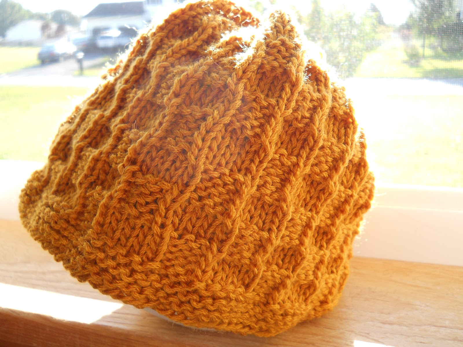 Knitting with Schnapps: Introducing The Checkered Embrace Chemo Cap ...