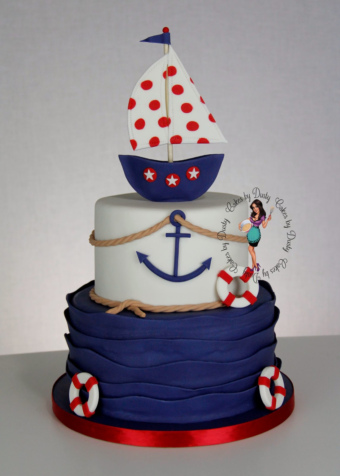 Cakes By Dusty Nautical Baby Shower
