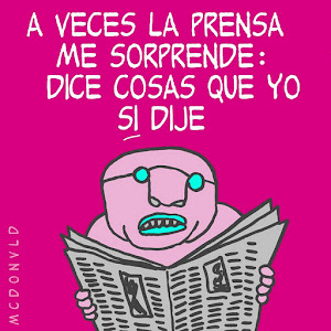 Caricatura Hondureña