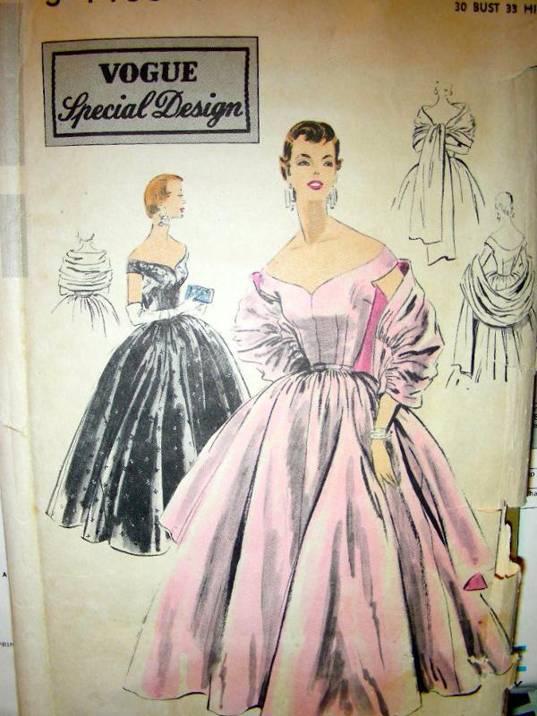 Wedding Gown Patterns Vogue 19 Spectacular  source