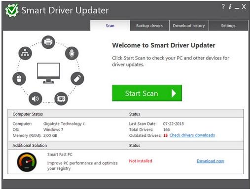 Smart Driver Updater v4.0.0.1213