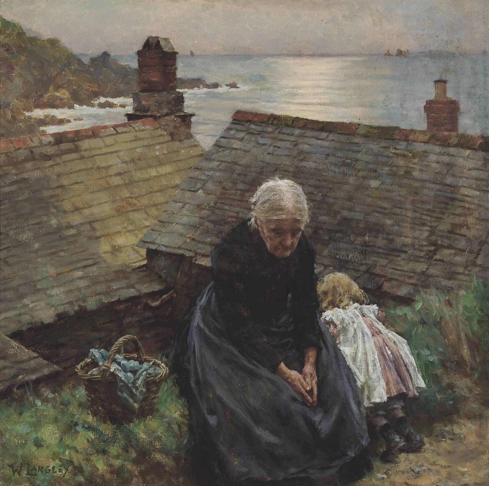 Walter Langley Meditation