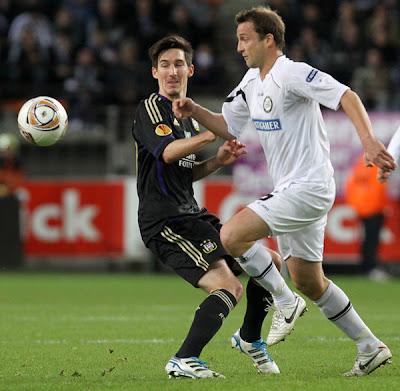 Anderlecht 3 - 0 Sturm Graz (1)