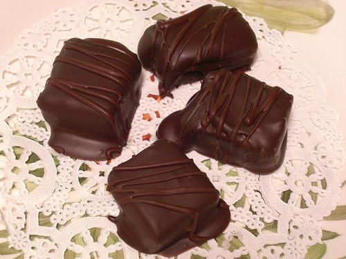 how to make orange filling for chocolates like bridge mixture