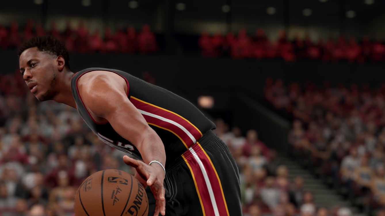 NBA 2k16 Screenshot - Mario Chalmers Miami Heat