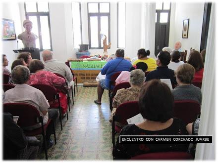 Comunidad  Naguake  Brinda  Homenaje a  Carmen  Corchado  Juarbe
