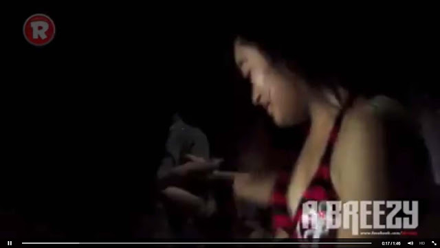 Underground Party Video Features a Teen was Lap-Dancing a man in front of many men