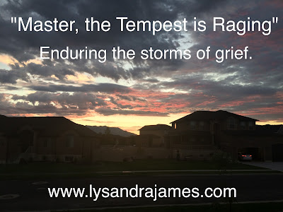 """Master, the Tempest is Raging"" - www.believeisaverb.blogspot.com"