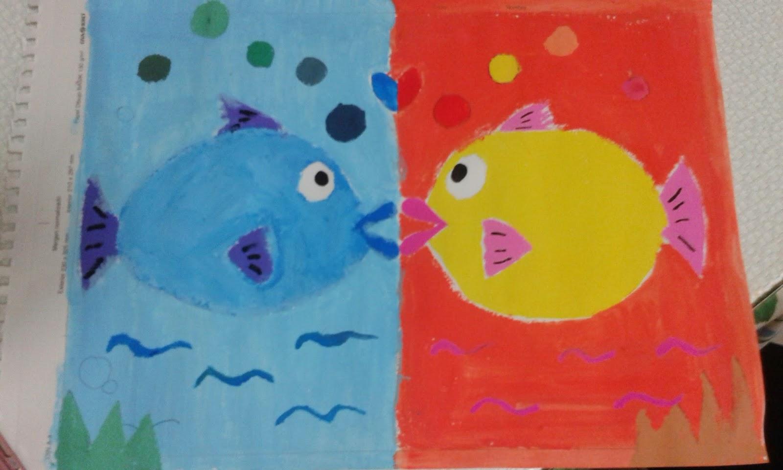 El arte de crear sonrisas colores c lidos y fr os - Cuadros con colores calidos ...
