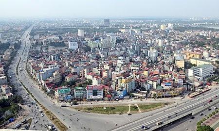 Công bố bảng giá đất hai quận mới ở Hà Nội