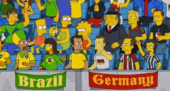 Brasil vs Alemani - Los Simpsons