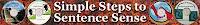 Simple Steps to Sentence Sense  by Charlene Tess