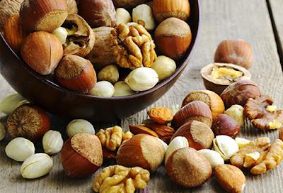 các loại hạt là thực phẩm chống lão hóa da