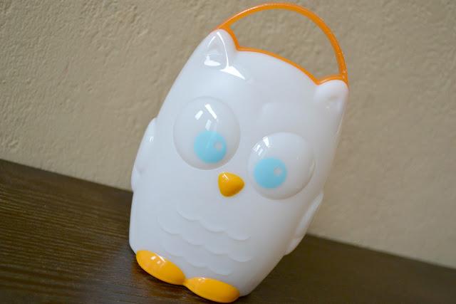 Munchkin light my way nightlight, Munchkin Owl nightlight, transitional nightlight, battery conserving nightlight