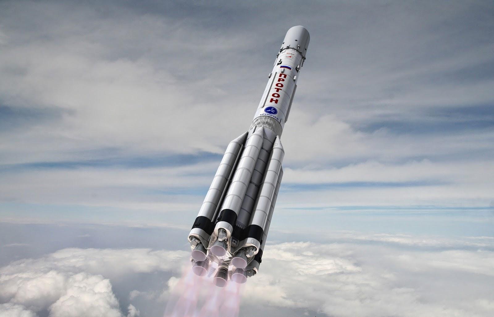 About the Angara rocket