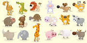 Animales todos. (animales cartoon completo )