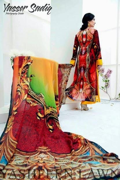 Yashfeen Lawn Summer Collection