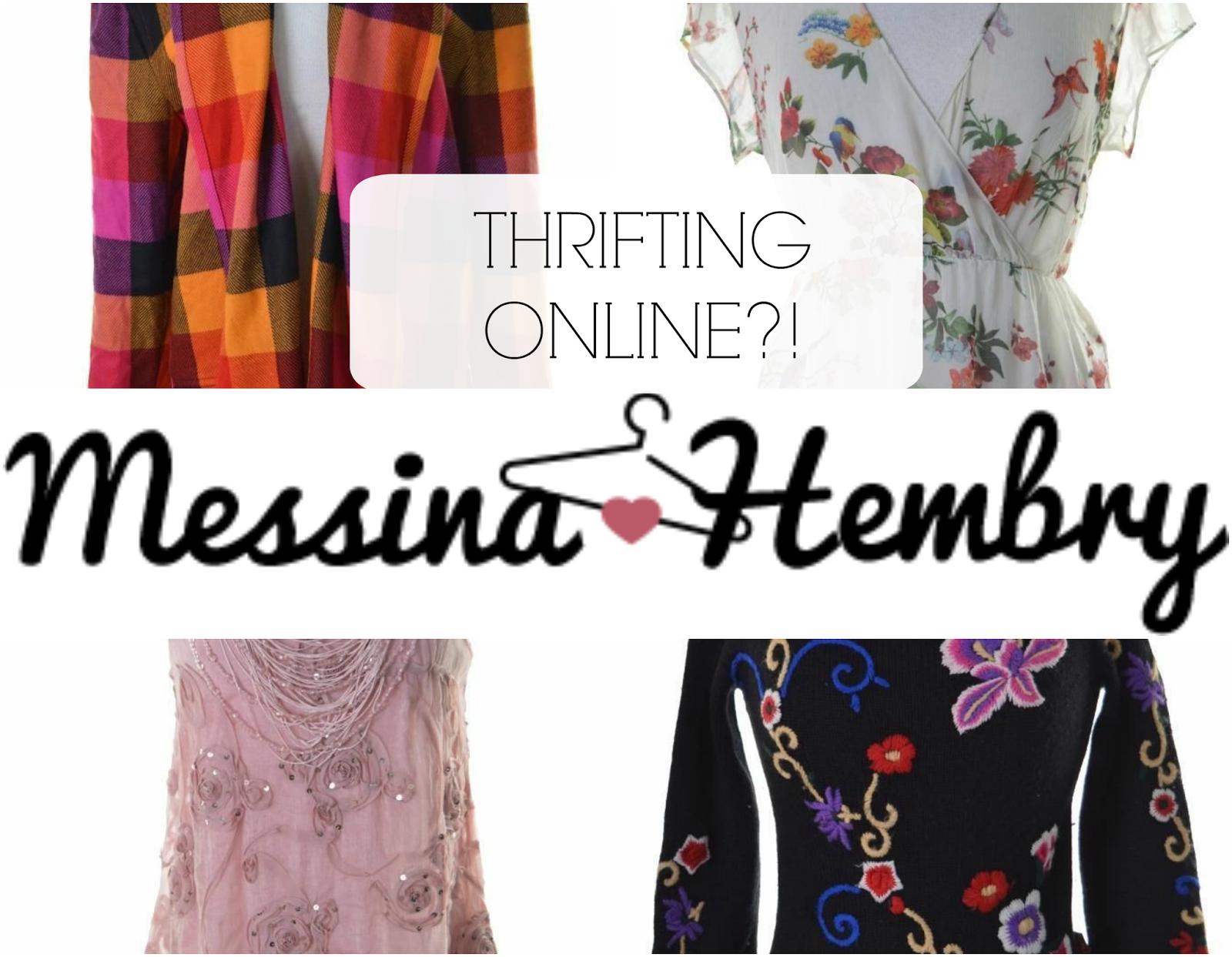 messina hembry designer vintage thrifting online
