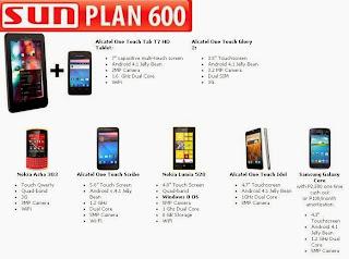 Sun Plan 600