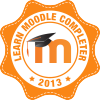 Moodle Completer Badge