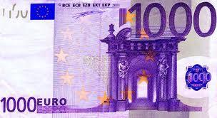 billete de 1000 euros