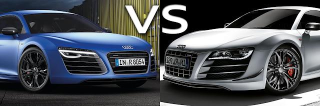 Audi R8 V10 plus vs Audi R8 GT
