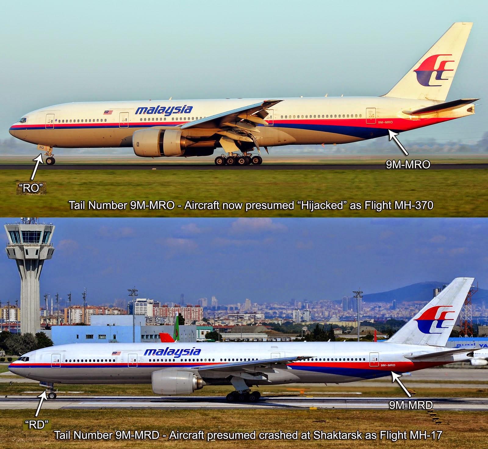 Adakah MH17 adalah Sebenarnya MH370 Ini Bukti Dari Pakar
