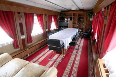 Фото Укринформ: вагон для богатых