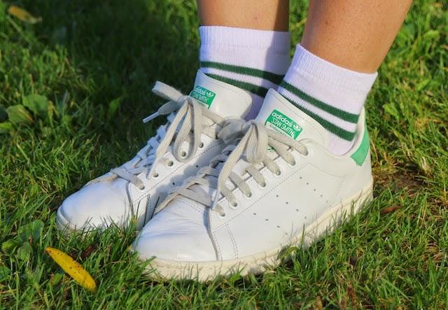stan smith, chausettes tennis, asos