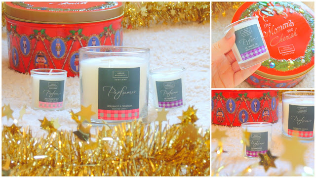 Arran Aromatics Christmas Candles