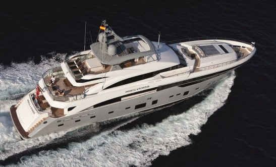 imperial princess yacht luxury cruising vessel exterior