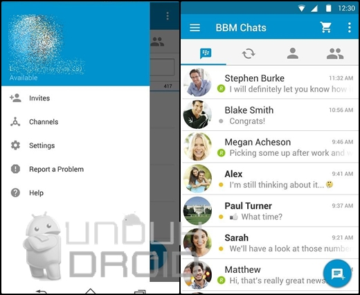 Download BBM Material Design Terbaru 2015 APK