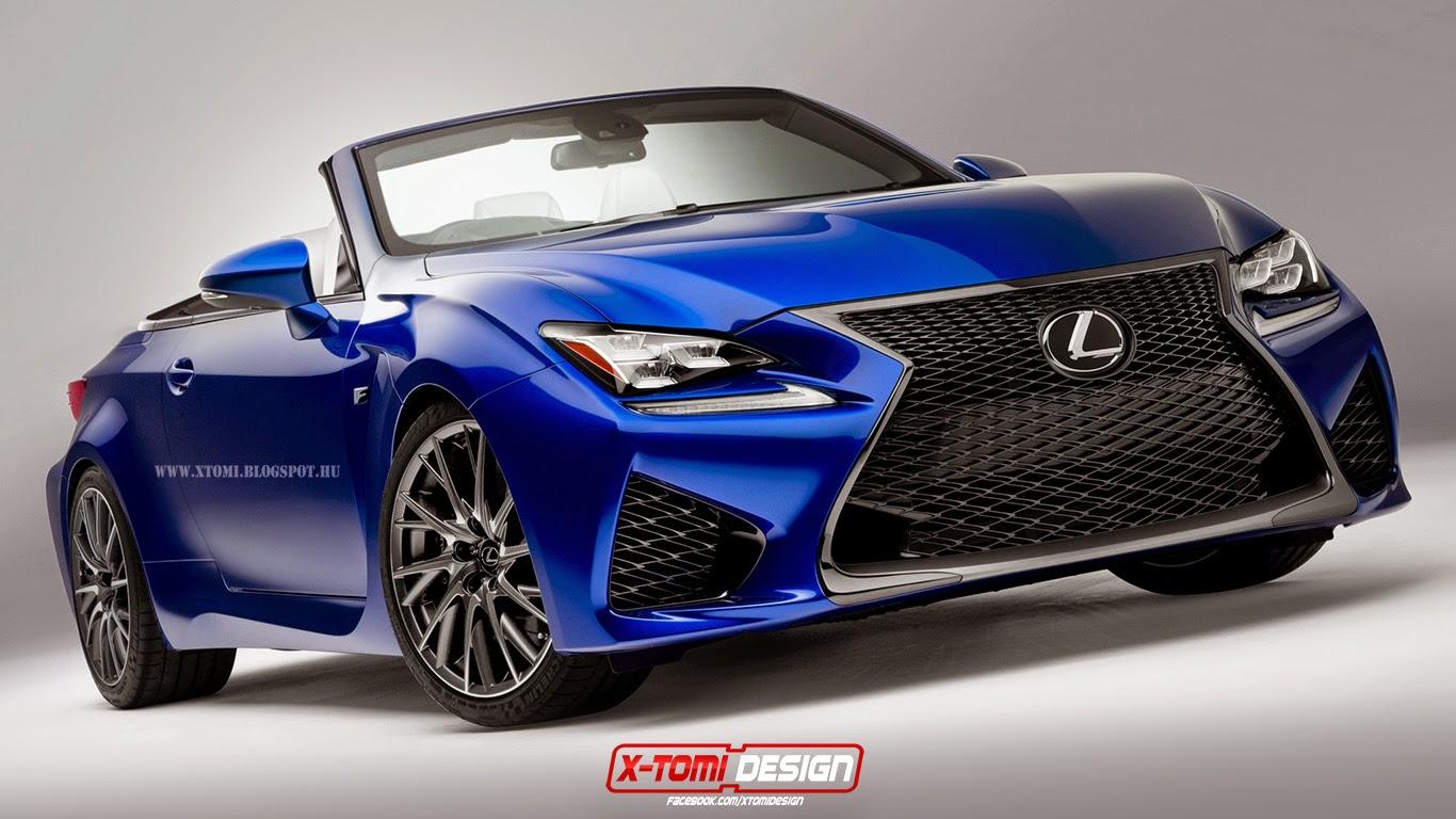 x-tomi design: lexus rc f cabrio