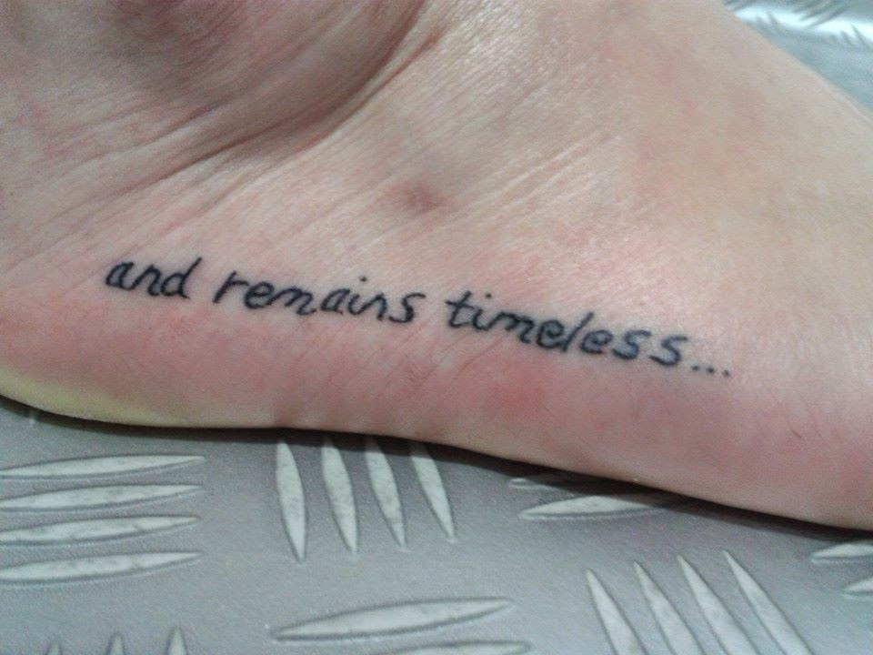 Tatouage sur le pied modèles de tatouages pour les pieds - tatouage cheville et pied