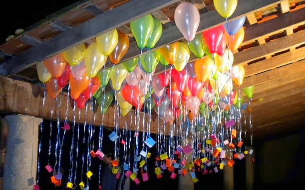 Mrs pink qu hacer con los globos - Decoraciones para techos ...