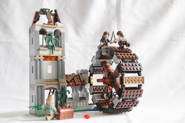 ~Boris Bricks~: LEGO Pirate of the Caribbean #4183 The Mill Review