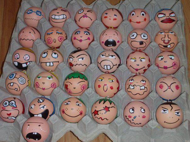 telur, lawak, hiasan telur