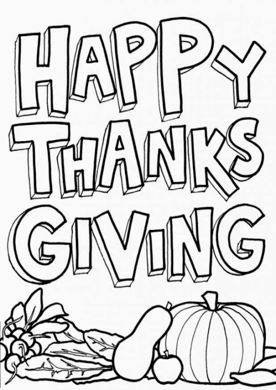Free Thanksgiving Coloring Pages For Kids   AZ Coloring Pages