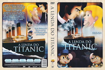 capa de DVD do filme A Lenda Do Titanic - Vol.4