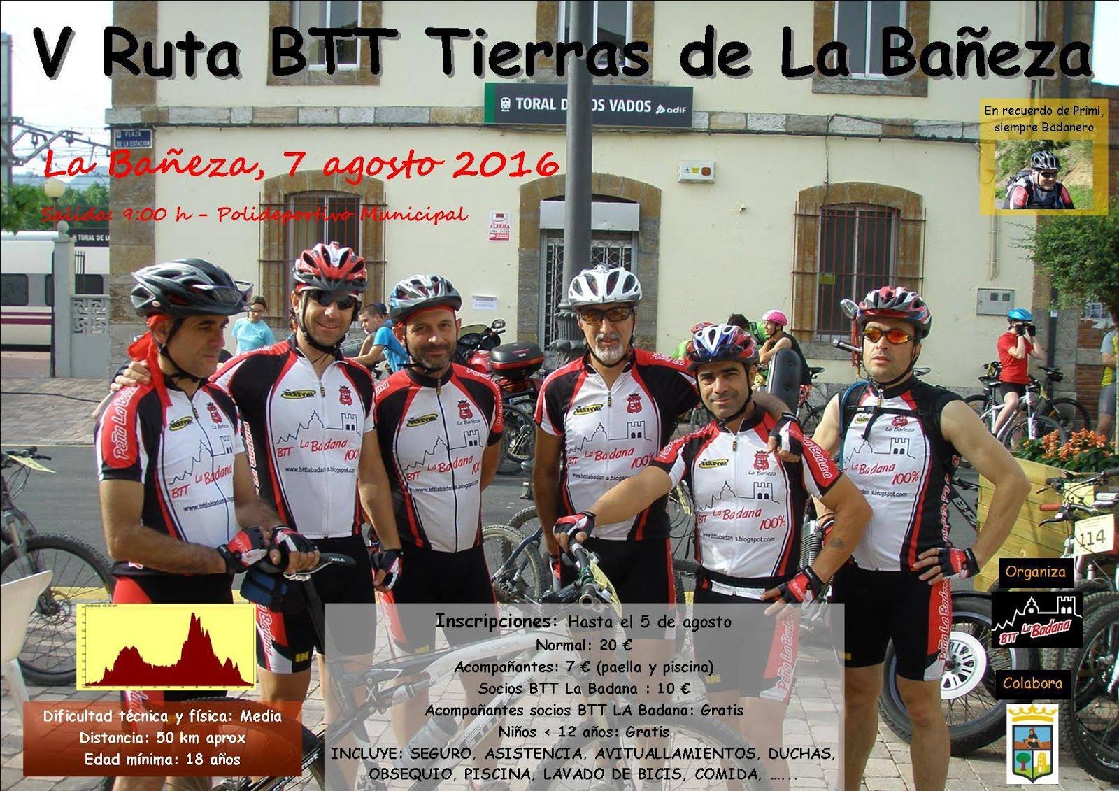 MARCHA BTT TIERRAS DE LA BAÑEZA