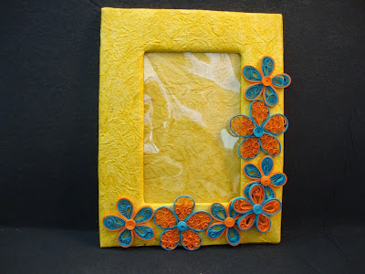 Paper quilling for home decor