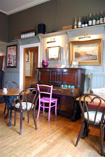 Stitch and Bear - Welcoming interior of the Wild Honey Inn