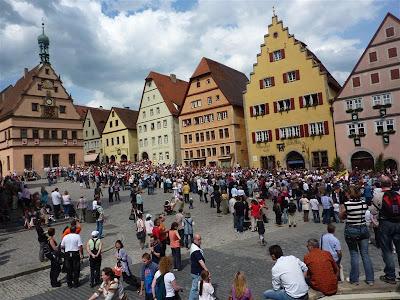 Markplatz de Rothenburg ob der Tauber