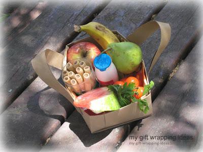 fruit basket for shavuot