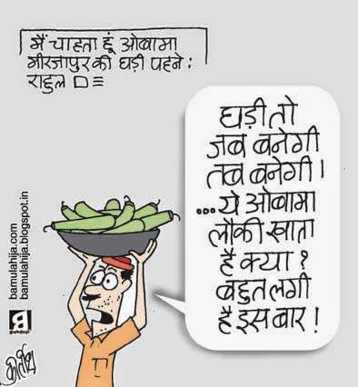 obama cartoon, rahul gandhi cartoon, assembly elections 2014 cartoons, election cartoon, common man cartoon, cartoons on politics, indian political cartoon