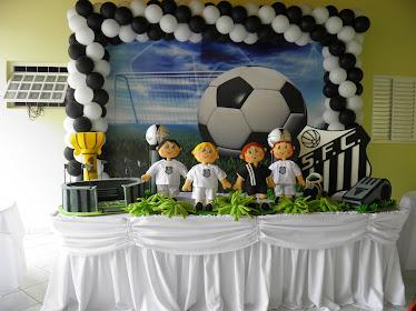Festa Time de Futebol - Santos