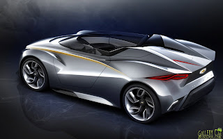 Chevrolet Mi ray Roadster Concept Car Wallpapers HD  - chevrolet mi ray roadster concept car wallpapers